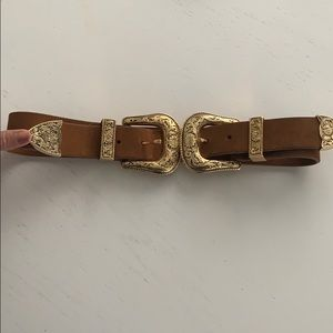 B-LOW The Belt Bri Bri Double Suede belt